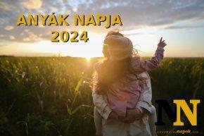 Anyák napja 2024