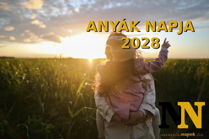 Anyák napja 2028