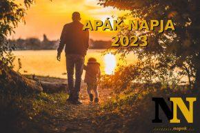Apák napja 2023