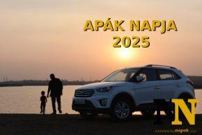 Mikor van Apák napja 2025-ben? Apák napja Magyarországon. Itt a dátum!