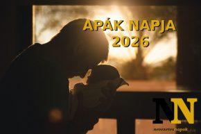 Apák napja 2026
