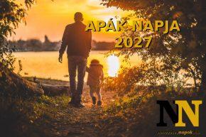 Apák napja 2027