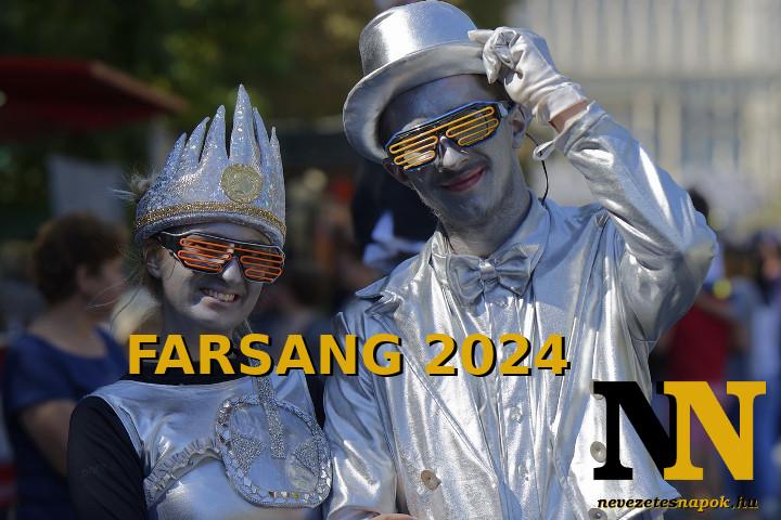 Mikor van farsang 2024-ben? A farsangi időszak.