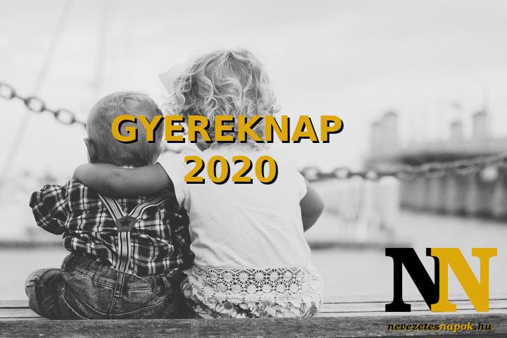 Mikor lesz Gyereknap 2020-ban?