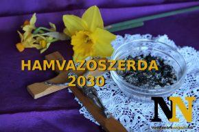Mikor van 2030-ban hamvazószerda dátuma?