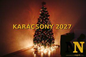 Mikor van karácsony 2027-ben? - Karácsony napja