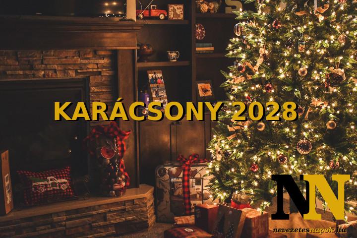 Mikor van karácsony 2028-ban? - Karácsony napja