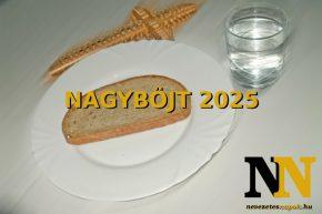 Mikor van Nagyböjt időszaka 2025-ben? Húsvéti böjt kezdete és vége