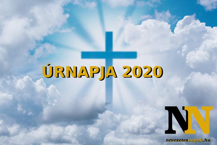 Úrnapja 2020