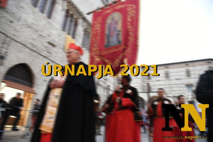 Úrnapja 2021 - Körmenet