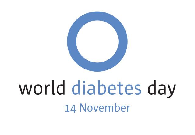 Diabétesz világnapja logo