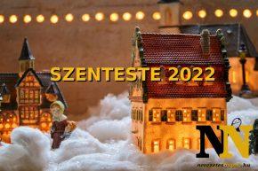 Mikor van szenteste 2022-ben?