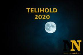 Telihold 2020: naptár, dátumok