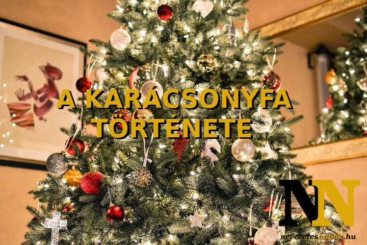 A karácsonyfa története