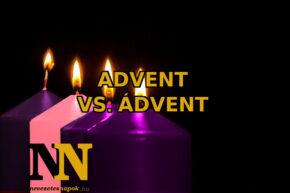 Advent helyesírás