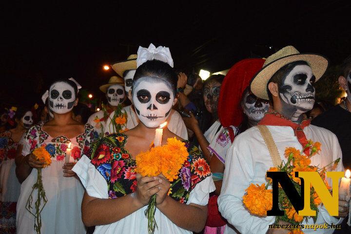 Halottak napja: Mexikó legnagyobb ünnepe