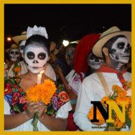 Halottak napi fieszta Mexikóban
