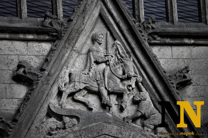Szent Márton az utrecht-i templom falán