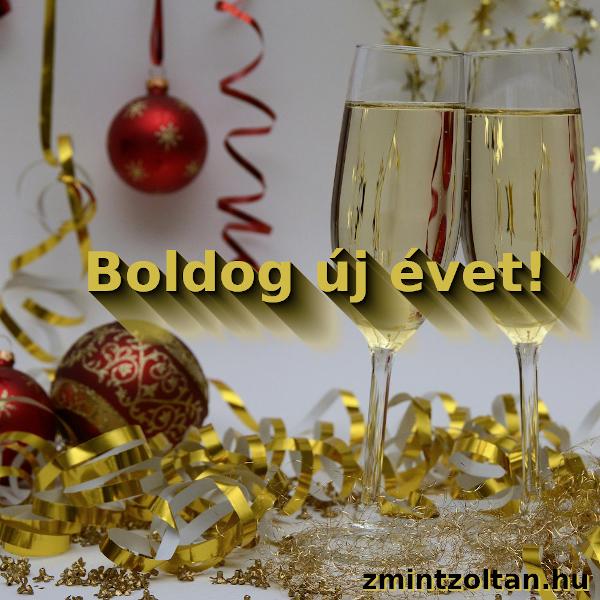 Így helyes: Boldog új évet!