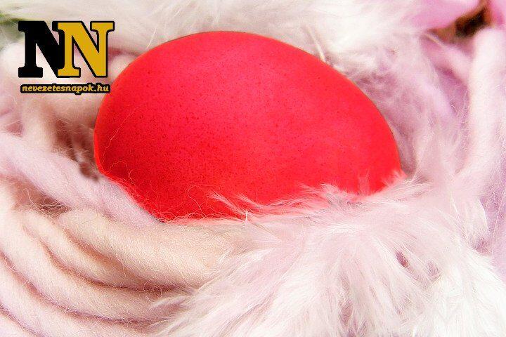 A piros tojás az igazi húsvéti tojás