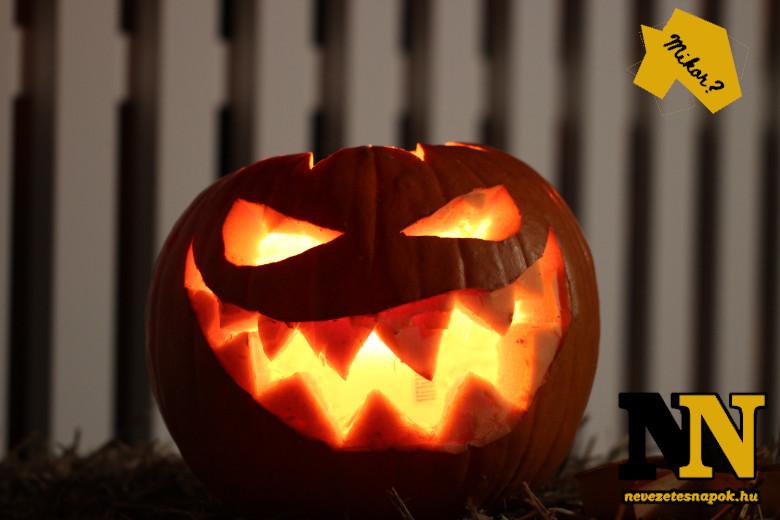 Halloween tököt mikor kell kirakni?